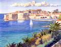 "Miho Simunovic Watercolors ~ ""Dubrovnik"" - 11 in. x 14 in.  Temporarily SOLD OUT!"