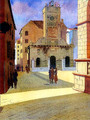 "Miho Simunovic Watercolors ~ ""Zadar"" - 11 in. x 14 in."