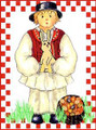 *CROATIAN EASTER CARDS ~ Boy ~ Exclusively Designed for Heart of Croatia Gifts: SOLD OUT!