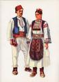*Vladimir Kirin Costume Prints ~ Imported from Croatia: Village of REKAVICA, Bosnia (Numbered Print): SALE!