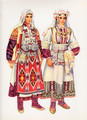 Vladimir Kirin Costume Prints ~ Imported from Croatia: KUMANOVO, Macedonia (Numbered Print)
