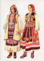 Vladimir Kirin Costume Prints ~ Imported from Croatia: Village of Pcinje, Nisava Valley, Serbia (Numbered Print)