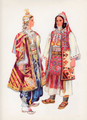 Vladimir Kirin Costume Prints ~ Imported from Croatia: PRIZREN, Kosovo (Numbered Print)