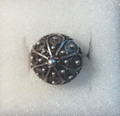 **Adjustable Ring with Medium to Smaller-Sized, Half-Ball Botuni, Imported from Croatia: NEW! (#3)