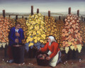 "Ivan Generalic, Master Naive Artist ""Picking the Grapes""1954 ~ NOW UV-COATED for PROTECTION!"