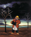 "Ivan Generalic, Master Naive Artist ""Gypsy Musician"" 1971 ~ NOW UV-COATED for PROTECTION!"
