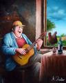 """Croatian Harmony"" Print by Miroslav Pintar - 5 x 7: CLEARANCE!"