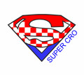"******ONESIES ~ ""SuperCro!"" Logo & Name: CLEARANCE! Available only in 18 month size!!"