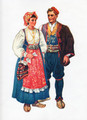 *Vladimir Kirin Costume Prints ~ Imported from Croatia: Podgora, Dalmacija, Croatia