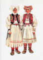*Vladimir Kirin Costume Prints ~ Imported from Croatia: Jamnica, Region of Pisarovina, Croatia