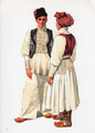 *Vladimir Kirin Costume Prints ~ Imported from Croatia: Village of Donja Kupcina, Croatia