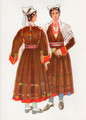 *Vladimir Kirin Costume Prints ~ Imported from Croatia: Village of Rakalj, Region of Istra, Croatia