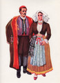 *Vladimir Kirin Costume Prints ~ Imported from Croatia: Island of Pag, Region of Primorje, Croatia