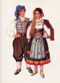 *Vladimir Kirin Costume Prints ~ Imported from Croatia: Town of Omisalj, Island of Krk, Region of Primorje, Croatia