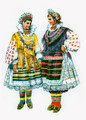 *Vladimir Kirin Costume Prints ~ Imported from Croatia: Valpovo, Croatia