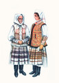 *Vladimir Kirin Costume Prints ~ Imported from Croatia: Stubica, Croatia