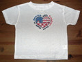 """***T-Shirt: Toddler Unisex Style ~ """"Made in America with Croatian Parts"""" SIZE 2 : CLEARANCE! ONE LEFT!"""