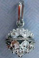 Sterling Silver 2.79g Full Ball Botuni Pendant ~ Imported From Croatia: RE-STOCKED! Discounted Price!