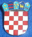 Lapel Pin ~ Large GRB (Croatian Crest): Imported from Croatia! NEW 2016! SOLD OUT!