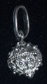*Sterling Silver Full Ball Botuni Pendant, 1g  ~ Imported From Croatia: Re-Stocked!
