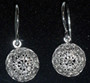 *Sterling Silver Half Ball Botuni Earrings, 2.19g ~ Imported From Croatia: DISCOUNTED! RE-STOCKED!