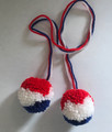 ****Decoration for Tamburas! NEW! (Double Pom Pom)