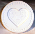 Cookie Stamp with LICITARSKA SRCA Image; Comes with Recipes! RE-STOCKED!