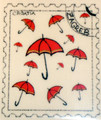 ****Magnet, Original Images by Croatian Artist, Mario Barisin, Sestinski Umbrellas: CLEARANCE!