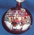 Hand-Painted Christmas Ornament of St. Mark's Church, Imported from Croatia!  Brought Back by Popular Demand! PRE-ORDER @ Discounted Price! (Inventory is Limited, and pre-sales of this item are going QUICKLY!)