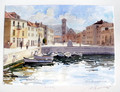 "*Miho Simunovic Watercolors ~ ""Hvar"" - 11 in x 14 in"