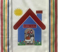 "**Croatian Cooking ~ Kitchen Towel ~ ""DOBRO DOSLI"" (""Welcome!) ~ with Multi Stripe!"