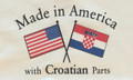 "ONESIES for Babies, ""Made in America with Croatian Parts"" ~ NEW! (18 Months Size)"