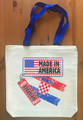 "Canvas Tote, ""Made in America with Croatian Parts"" Image by Krešimir Bajsić!  NEW!"