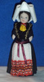 DOLL from Croatia (Dubrovnik-Konavle)! NEW! (White Cap)