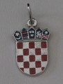 GRB: Sterling Silver Enamel, 2.29g,  Imported from Croatia: Price Drop! Re-Stocked!
