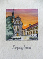"**""LEPOGLAVA"" Original Art by Krešimir Bajsić, Imported from Croatia: ONE-OF-A-KIND! NEW! (#4)"