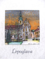 "**""LEPOGLAVA"" Original Art by Krešimir Bajsić, Imported from Croatia: ONE-OF-A-KIND! NEW! (#6)"