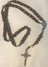 Polished Wood Rosary