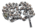 *Polished Neutral Color Bead Rosary, Imported from Međugorje!  Stunning! NEW!