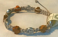 *Prayer Bracelet Handmade using St. Benedikt Medals & CROATIAN OLIVE WOOD Crosses , Imported from Međugorje! NEW! (#3)