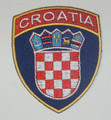 Embroidered Patch, Imported from Croatia: NEW!  (3-Sided)