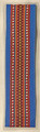 *BOOKMARKS, Handmade with Woven Textiles from Croatia! (PRIGORJE with Blue Design): NEW!