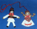 Sestinski Couple Dangling Dolls: SOLD OUT!  Imported from Croatia!