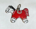 LICITAR JEWELRY,  Traditional Toy Horse Pendant 3.1g, Hand-Painted and Imported from Croatia: NEW!  ONE-OF-A-KIND!