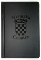 PADFOLIO Engraved with Croatia/Hrvatska and GRB: NEW! (Black) RE-STOCKED!