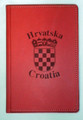 PADFOLIO Engraved with Croatia/Hrvatska and GRB: NEW! (Red) Re-Stocked!