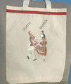 Hand Painted Tote Bags with POSAVINA Images by Vladimir Kirin, Imported from Croatia: NEW! (POSAVINA4)