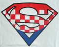 "******ONESIES ~ ""SUPER CRO"" Logo: CLEARANCE! ONE 18 months left! SOLD OUT!"