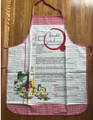 "***Apron ~ ""Štrukli s Jabukama"" (Štrukli with Apples--Recipe!)  ~ NEW from Croatia! SOLD OUT!"
