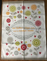 "****Croatian Cooking ~ Kitchen Towel ~ ""Gdje ljubav i sloga vlada, puno je veselja i nada"" (""Where love and harmony rule, all is happy and hopeful"") ~ NEW from Croatia! SOLD  OUT!"